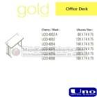 Office Desk UNO Gold Series
