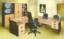 Meja Kantor Daiko MDP 120 Beech