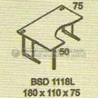 Meja Kantor Modera BSD-1118 L