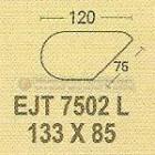 Meja Kantor Modera EJT-7504