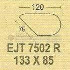 Meja Kantor Modera EJT-7502 R