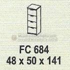 Meja Kantor Modera FC-684