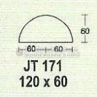 Meja Kantor Modera JT-171