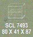 Meja Kantor Modera SCL-7493