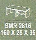 Meja Kantor Modera SMR-2816