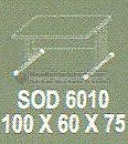 Meja Kantor Modera SSD-5010
