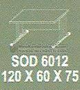 Meja Kantor Modera SOD-6012