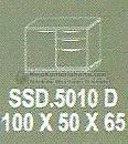 Meja Kantor Modera SSD-5010 D