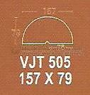Meja Kantor Modera VJT-505