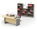 Set Meja Kantor HighPoint Workstation 4