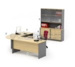 Set Meja Kantor HighPoint Workstation 5