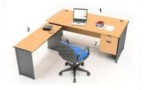 Set Maja Kantor Beech HighPoint Workstation 2