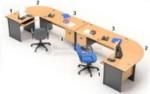 Set Maja Kantor Beech HighPoint Workstation 3