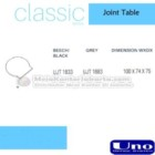 Joint Table UNO UJT-1833, UCT-1883