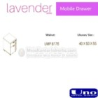 Mobile Drawer UNO UMP-8176