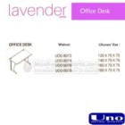 Office Desk UNO Lavender Series