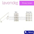 Privacy Screen UNO Lavender Series