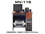 Meja Kantor VIP MV-115 (Computer Desk)