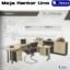 Meja Kantor UNO Manager Set