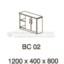 Meja Kantor VIP BC-02 (Cabinet)