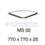Meja Kantor VIP MS-02 (Table Conector)