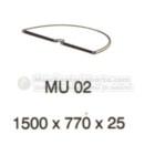 Meja Kantor VIP MU-02 (Table Conector)