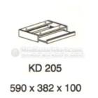 Meja Kantor VIP KD-205 (Keyboard Drawer)