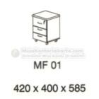 Meja Kantor VIP MF-01 (Mobile File)