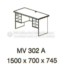 Meja Kantor VIP MV-302 A (Office Desk)