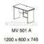 Meja Kantor VIP MV-501 A (Office Desk)