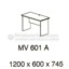 Meja Kantor VIP MV-601 A (Office Desk)