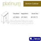 Bottom Cabinet UNO UST-2352 B, UST-2362 B