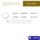 Joint table UNO UJT-2853 L, UJT-2863 L