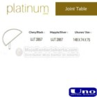 Joint table UNO UJT-2857, UJT-2867