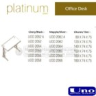 Office Desk UNO Platinum Series