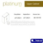 Upper Cabinet UNO UST-2352 A, UST-2362 A